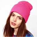 1pcs Knitted Hat Women Beanie Girls Autumn Casual Cap Women s Warm Winter Hats Unisex Bonnet