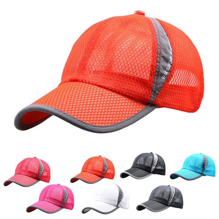Delicate Outdoor Summer Quick Dry Sport Sun Baseball Hat Cool Breathable Cap for Unisex With Net Jun15 Hot Selling(China (Mainland))