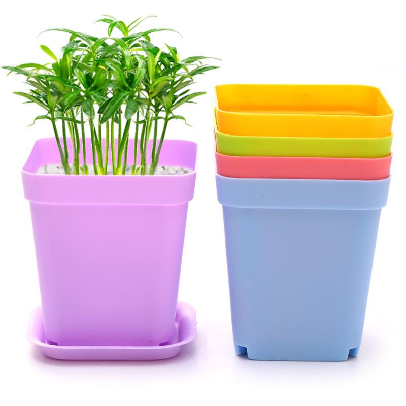 wholesale cheap 12pcs small plastic multi colors garden. Black Bedroom Furniture Sets. Home Design Ideas