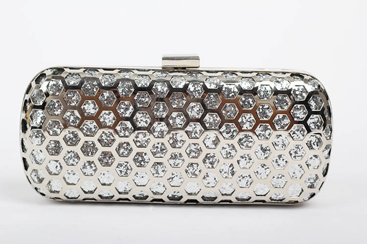 NEW style women evening bags network rail+sequin handbag women purses hollow our female bag of clutches with chain clutch bag(China (Mainland))