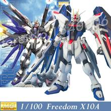 MOMOKO Model New Gundam Seed MG 1/100 ZGMF-X10A Freedom Mobile Suit Genuine Assembled Toys Anime kids toys Robot Action Figures