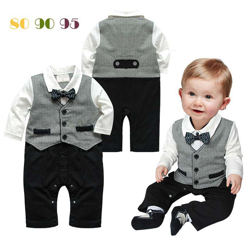 Baby Boy Suit For Wedding 2015 New Terno BeBe Menino Casamento Wedding Suits For Baby Boys Newborn Baby Clothes(China (Mainland))