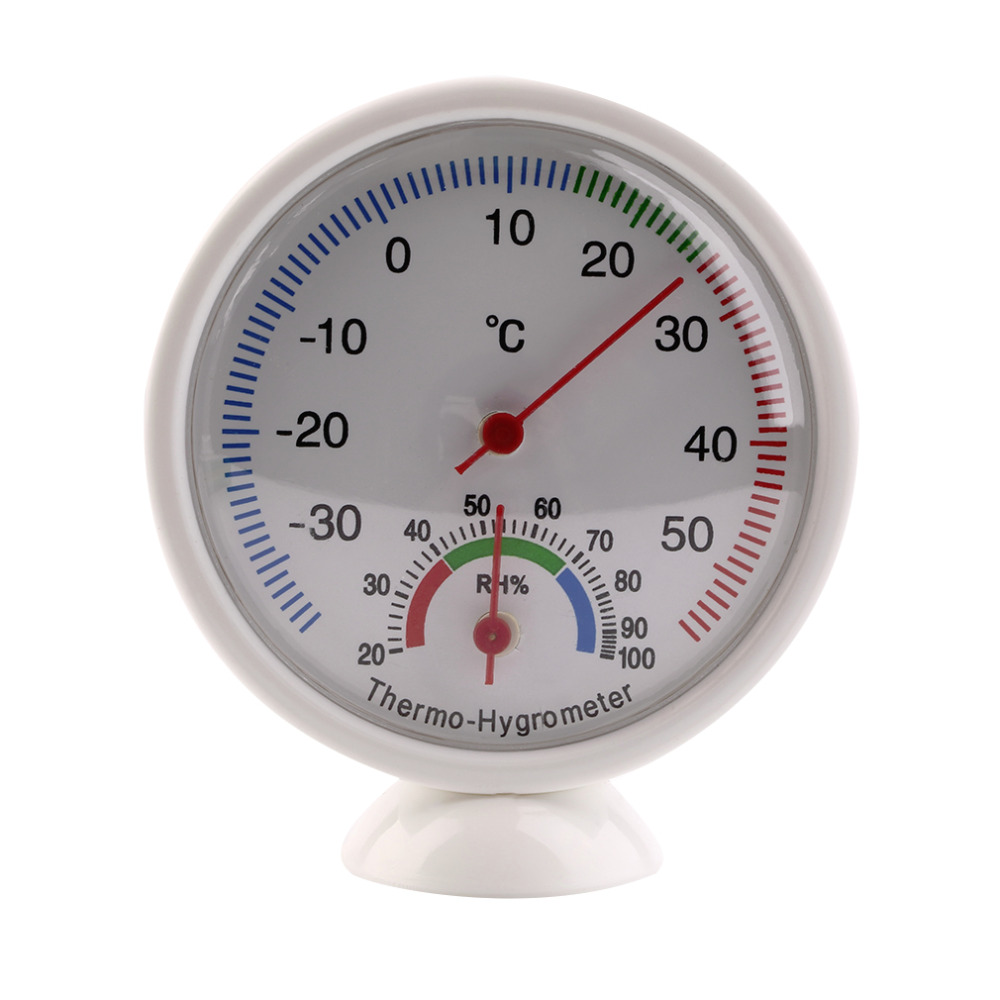 High Quality Indoor Outdoor Thermometer Hygrometer Temperature Meter New new arrival<br><br>Aliexpress