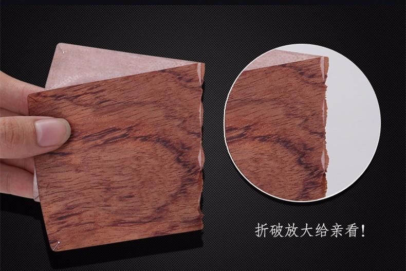 Genuine Wood material smart phone back sticker cover case for xiaomi mi5 case m5 original accessory