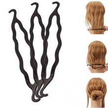 1Pc Hair Braiding Twist Styling Tool for Women Plastic Hair Styling Tools Magic Long Hair Braiders Tools Free Shipping Wholesale(China (Mainland))