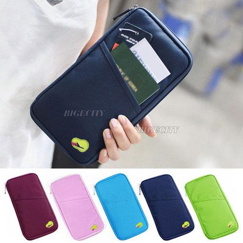 Travel Handbag Bag Clutch Card Credit Passport Tickets Organizer Holder Case Free Shipping<br><br>Aliexpress