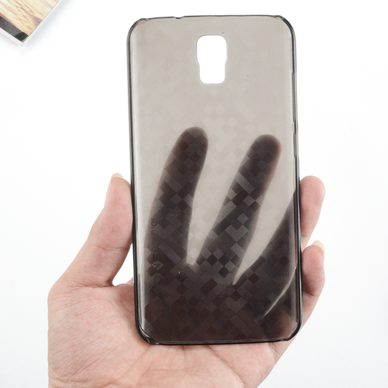 2 Pieces Umi Rome X Phone Cases Silicon Hard TPU Back Cover Brand New High Quality Protector ROME Smartphone Clear Brown Color(China (Mainland))