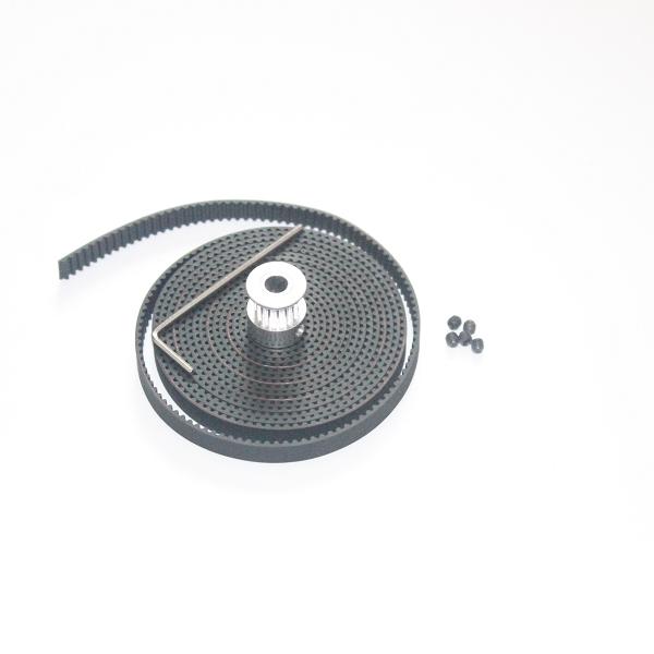 3D 2 GT2 20teeth 20 5 6 2meters 2m 6 GT2 GT2 20 teeth 8pcs gt2 pulley 20teeth bore 5mm 5m gt2 belt for 3d printer accessories reprap prusa