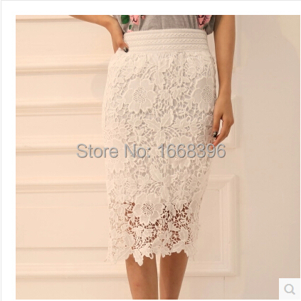 Bud silk skirts package hip pencil skirt of tall waist skirt cultivate one's morality in hand a long skirt(China (Mainland))