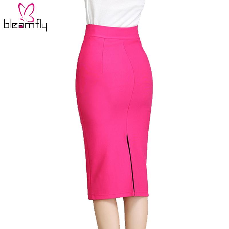 Online Get Cheap Black Stretch Pencil Skirt -Aliexpress.com ...