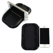 Hot sale Multifunction PU Anti-slip Mat Phone Holder Dashboard Sticky Accessories for Mobile Phone/GPS & Stuff Car Styling