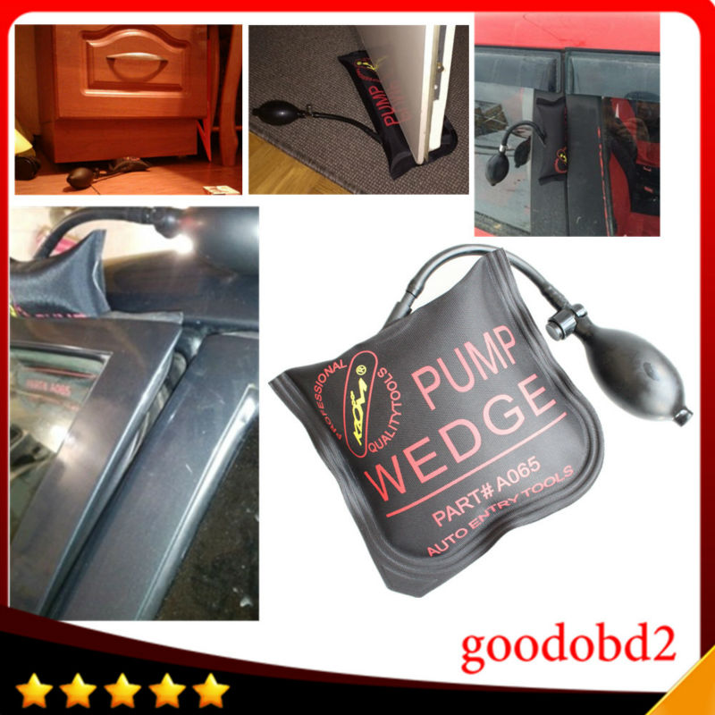 Car repair tools KLOM PUMP WEDGE LOCKSMITH TOOL Auto Air Wedge Airbag Lock Pick Set Open Door M Size 5.9inch*5.9 inch - Goodobd2 Technology Co., Ltd Nancy store