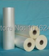 New Glossy Hot roll laminating film 3 rolls 310mmx200M/roll(China (Mainland))