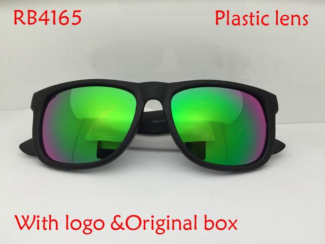 2015 горячий продавать черный квадрат кадр зеркало линзы джастин солнцезащитные очки ...
