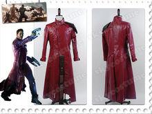 Neue heiße Film Wächter der Galaxie Peter Feder sterne- Herr cosplay mantel(China (Mainland))