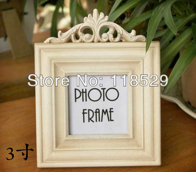 ! Square Shape Vintage Style Hallow Photo Frame Rural Wooden Home Decoration Gift,#11016 - J&P Store store