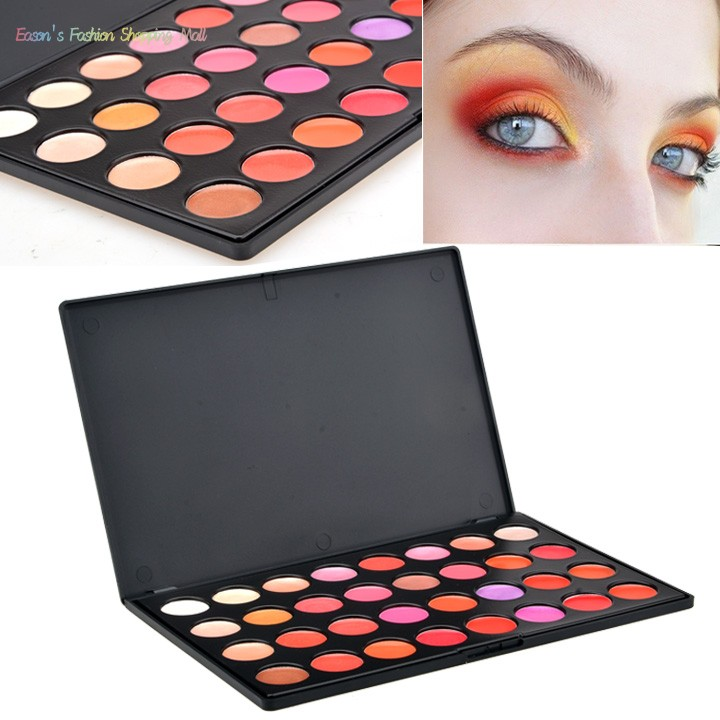 Brand New Hot Sale 32 Color Eye shadow Blush Lip Gloss Eyebrow Facial Beauty Cosmetic Makeup Palette Professional Powder 35(China (Mainland))