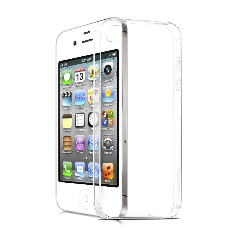 Wholesale Fashion Ultra Thin Transparent Tpu Soft Silicon Capa Case For Apple Iphone 4 4s Phone Anti-Dust Back Cover Cases(China (Mainland))