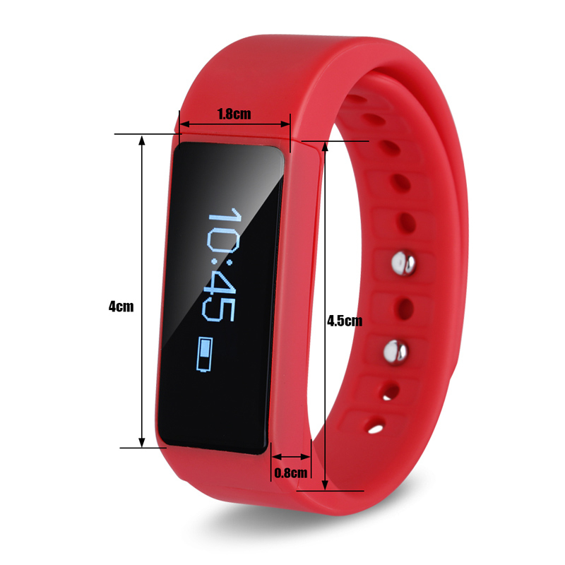 Health sleep monitoring silicon waterproof bluetooth 4.0 i5 plus smart sport wristband smartband gps(China (Mainland))