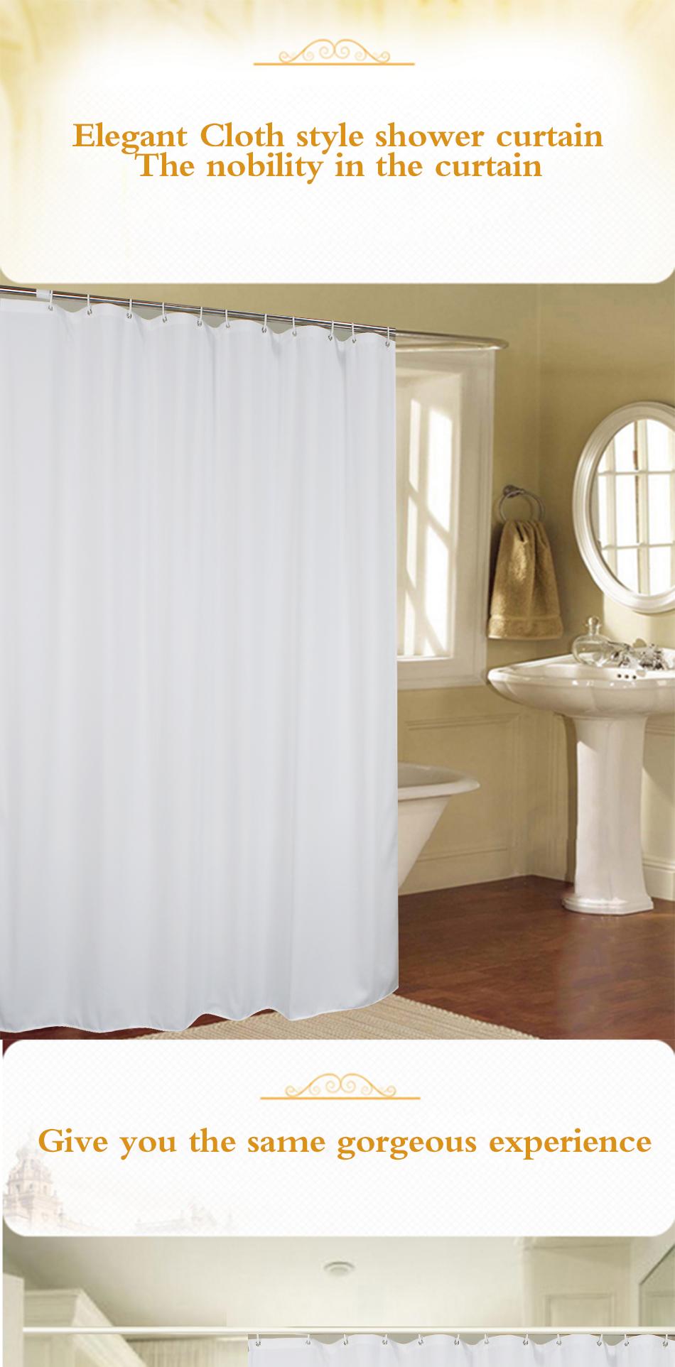 New White Shower Curtain _01