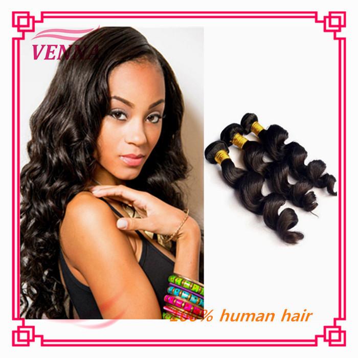 Aliexpress hair weave wholesale virgin indian hair milky way inidan hair(China (Mainland))