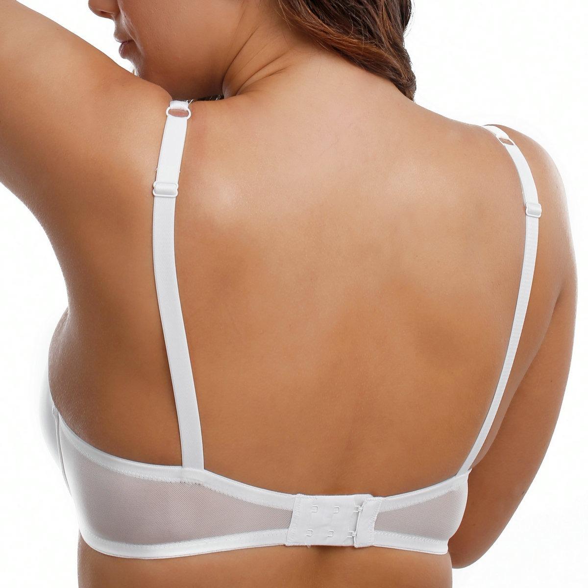 Brand New PLus Size Full Coverage Essential Underwire T-Shirt Bra 32 34 36 38 40 DD E F G