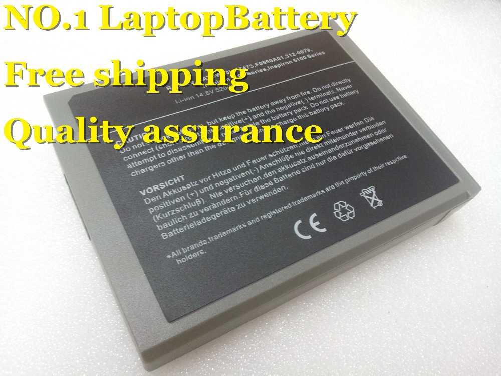 HOT+long life High quality NEW+8 cell Replacement battery for Dell Inspiron 5100 5150 6T473 312-0296 1100 1150 5160(China (Mainland))