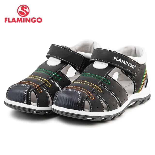 ФЛАМИНГО известный бренд 2016 Новых Прибытия Весенние и Летние Дети Мода Высокого Качества сандалии для мальчиков 61-XS162