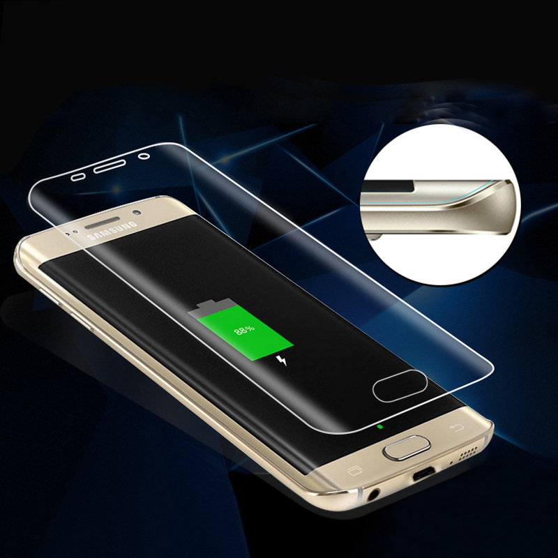 S7 Edge 3D Full Coverage Curved Screen Protector For Samsung Galaxy S7 Edge S6edge S6 edge plus Soft PET Not tempered Glass Film(China (Mainland))