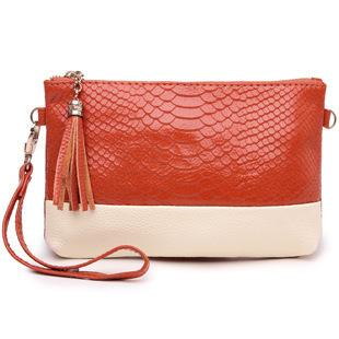 Women's Genuine Leather Wristlet