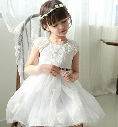 Фотография Hug Me Baby Girls Clothes Lace Tutu Dresses Childrens Short Sleeve for Kids Clothing 2016 New Summer Party Dress ZZ-1229