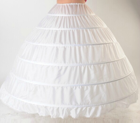 how to make an underskirt for a ball gown