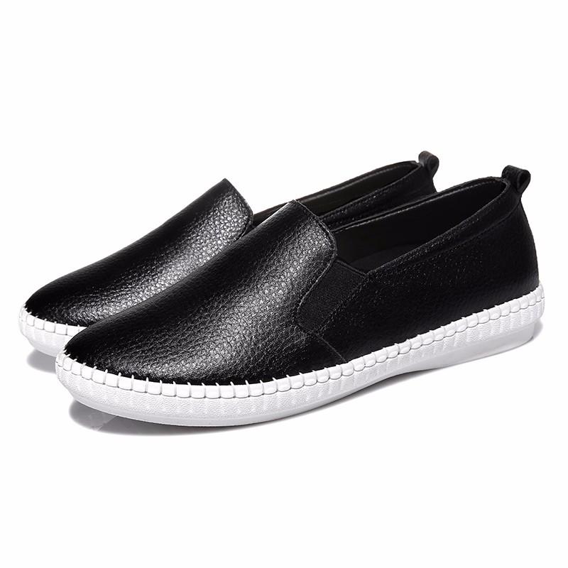 ซื้อ รองเท้าผู้หญิงMOOLECOLE 2016แฟชั่นใหม่ผู้หญิงรองเท้าวัวแยกหนังลื่นกับผู้หญิงรองเท้า6q308-3