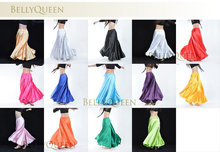 2014 New High Dancers Big skirt skirt belly dance Costumes Suit costume women doing exercises Dancewear 14 color