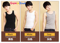 Geminbowl Outerwear elastic band Chest Binder Tomboy cotton Flat Vest long Breast corset Les Slim Undershirt