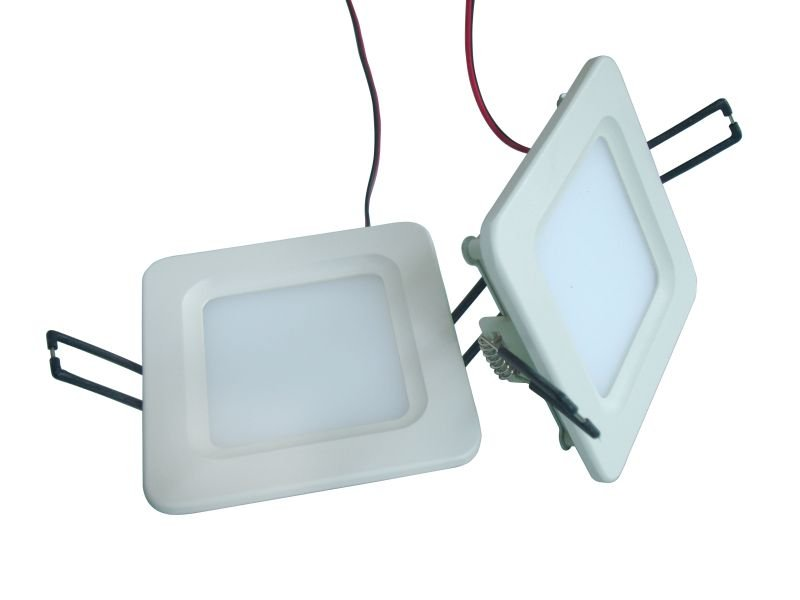 Square ultra thin LED ceiling light 4.8W ,210LM ,L:100mm  W:100mm  H:26 mm including driver DHL free shipping<br><br>Aliexpress