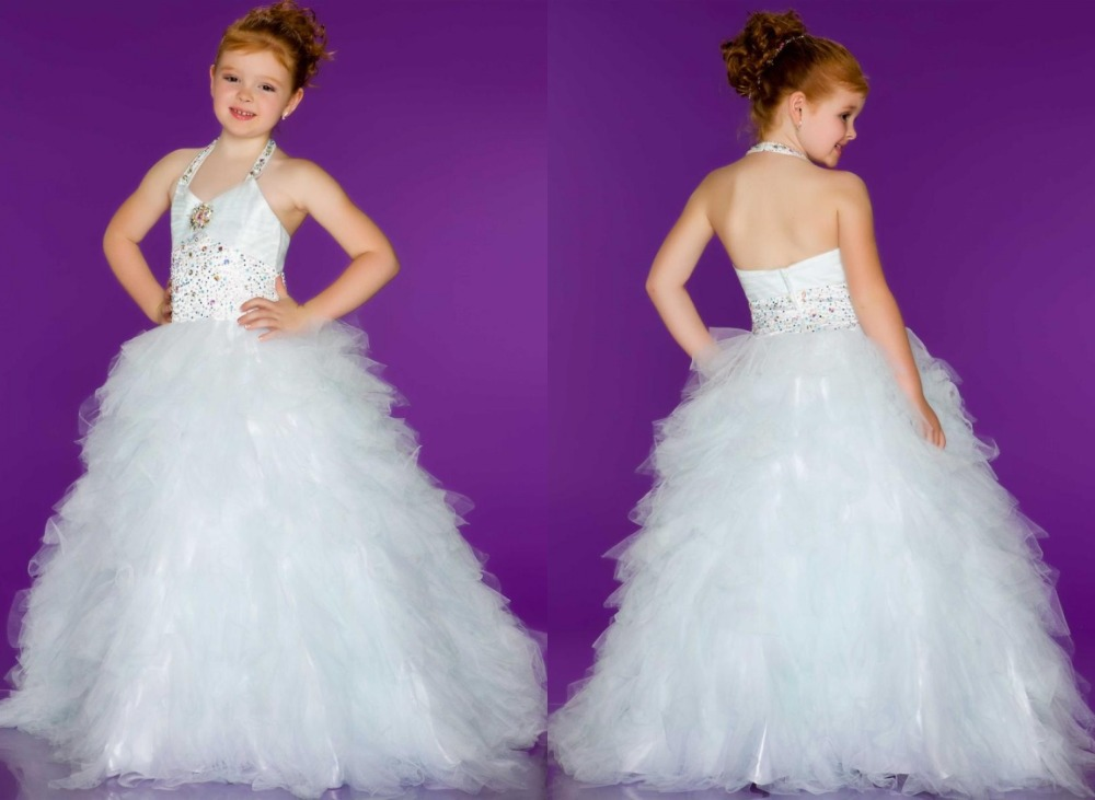 Cheap Ball Gown Pageant Dresses for Girls