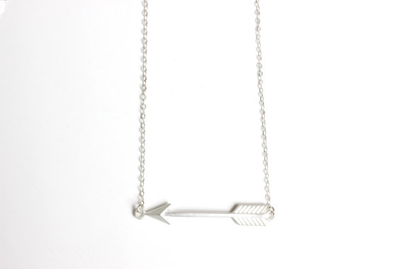 Statement Necklace 2016 Man Jewelry Sherlock Supernatural Arrow Necklace Space Gold Chain For Men One Direction Chokers DOTA 2(China (Mainland))