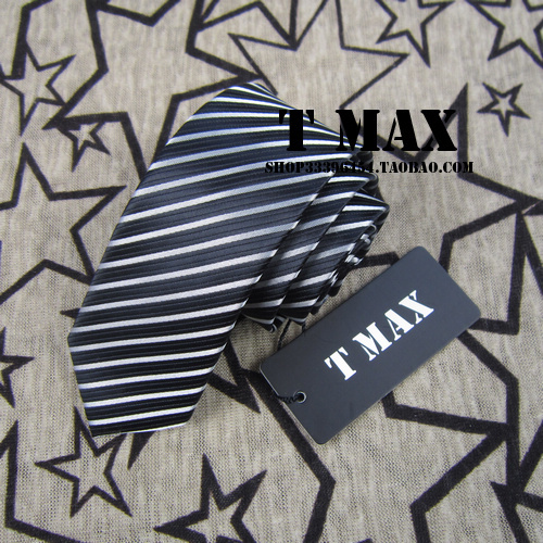 T max stripe narrow version tie male 5cm tie formal casual married commercial tie