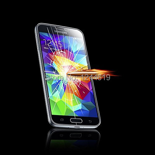 New 0.4mm Tempered Glass Anti Shatter Screen Protector Film Cover for Samsung galaxy s5 mini protective OPP package,free ship(China (Mainland))