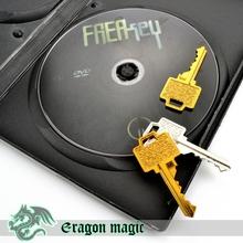 Бесплатно Ключи Фокусы Бесплатная Доставка Magia Magie Trick Игрушки Крупным Планом Весело