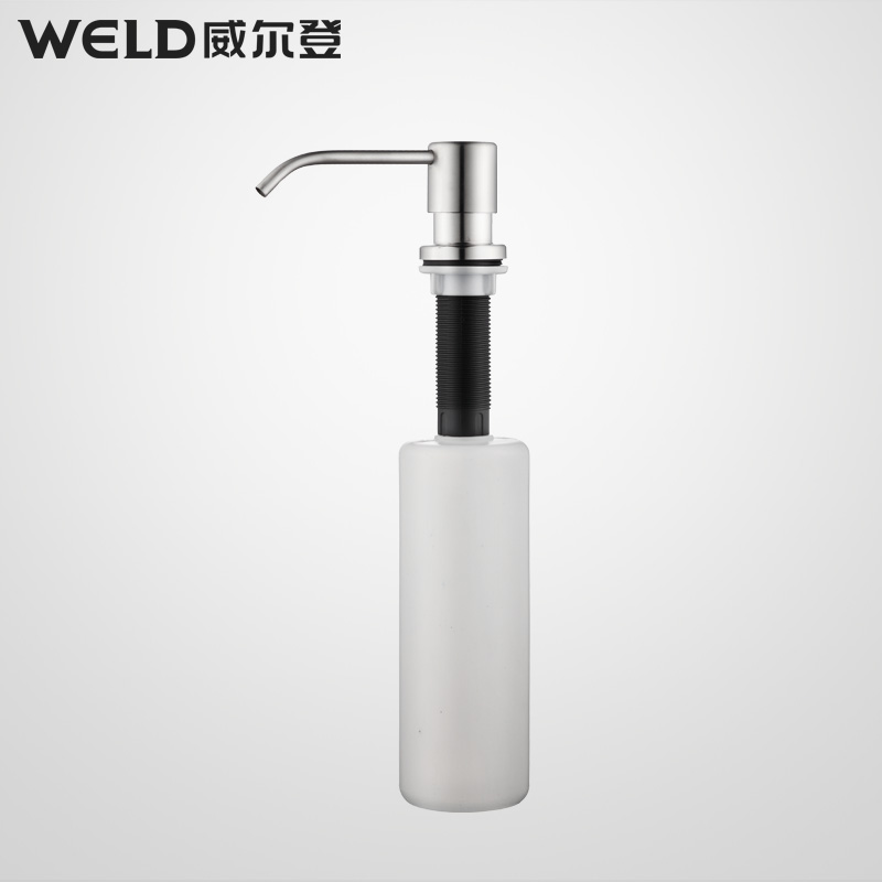 free shipping Sink vegetables basin soap dispenser cleaning bottle circle detergent hand sanitizer eco-friendly(China (Mainland))