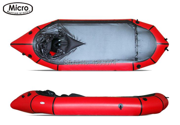 Micro Rafting Systems Packraft Inflatable boats Canoe Single Long(China (Mainland))