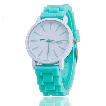 Fashion Women Silicone Watch Hot Casual Quartz Watch Ladies Wrist Watch Relogio Feminino Montre Femme Gift BWSB377