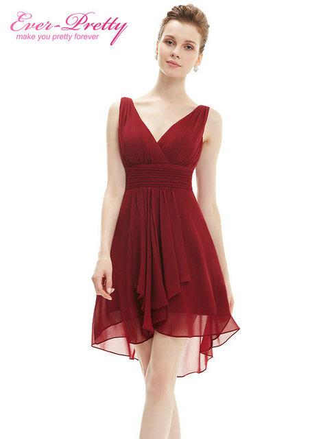 Платья невесты тех довольно HE03644 лето стиль оборками v-образным вырезом шифоновое ...