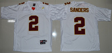 100% Stitiched,high quality Florida State Seminoles (FSU) Deion Sanders Throwback,camouflage(China (Mainland))