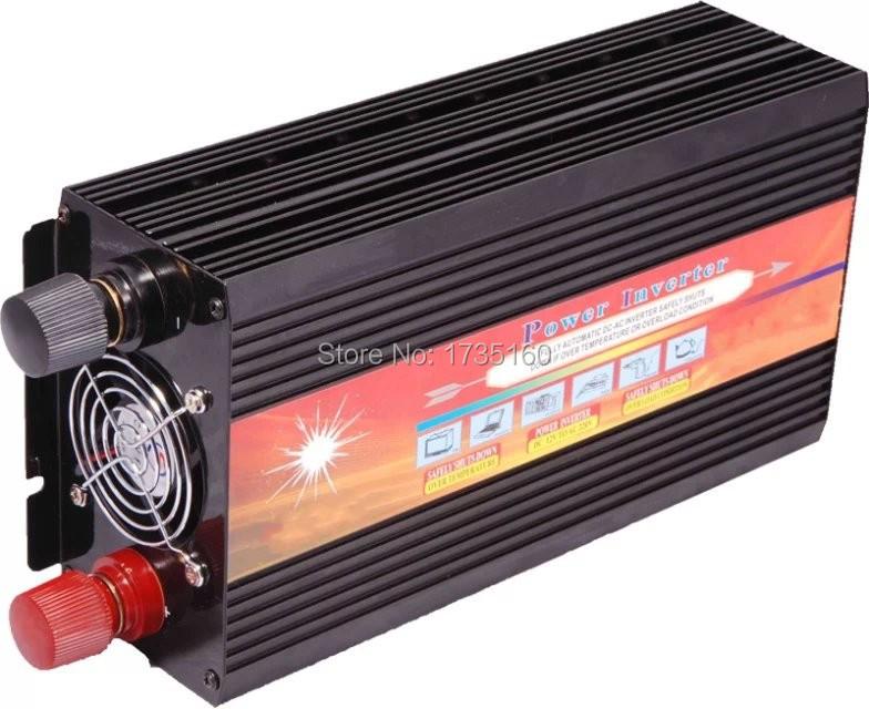DC12V 24V to AC 100V~120V/220V~240V Off Grid Modified Sine Wave Solar Power Inverter 3000w 3000W Inverter Modificato<br><br>Aliexpress
