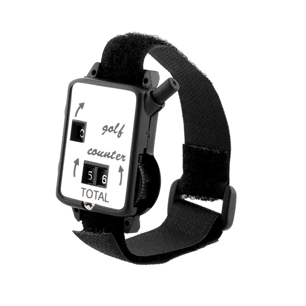 Pocket Black Wristband Golf Club Stroke Score Counter Keeper Shot Scorer Accessories Outdoor Useful New<br><br>Aliexpress
