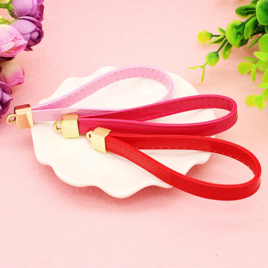 Free Shipping Newest Leather Key Chain Women Suede Keychain Bag Pendant Car Key Ring Phone Holder Jewelry(China (Mainland))