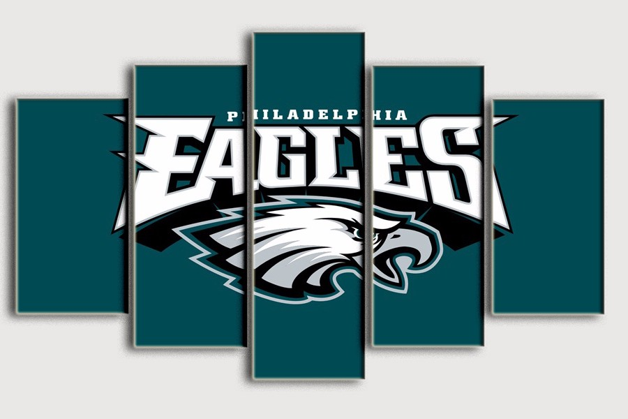 Painting Philadelphia Eagles Top selling Living room decorate wall art oil pictures printed on canvas Bedroom backdrop(China (Mainland))